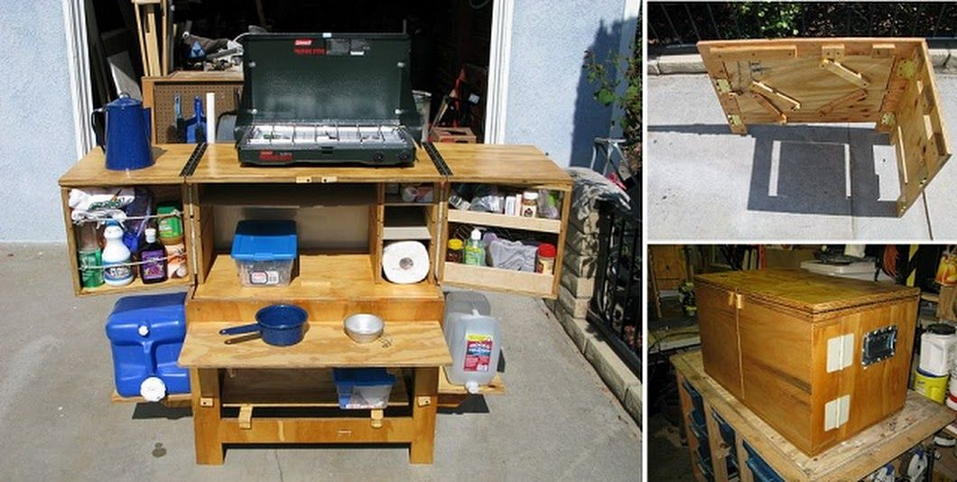 Build Your Own Camp Kitchen Chuck Box With Images Camp Kitchen Chuck Box Chuck Box Plans Camp Kitchen