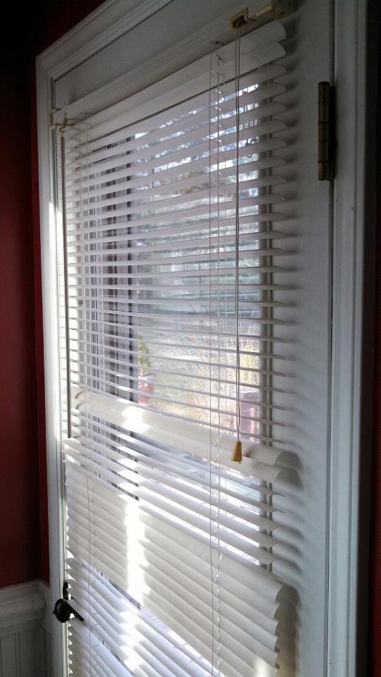 Odl Enclosed Blinds Built In Door Window Treatments Blinds Enclosed Blinds Door Window Treatments