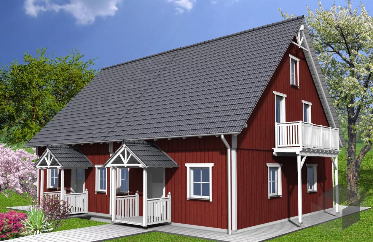 Doppelhaus \'Twinto 45\' - Hagemann Haus | Ab 125.300 Euro als ...