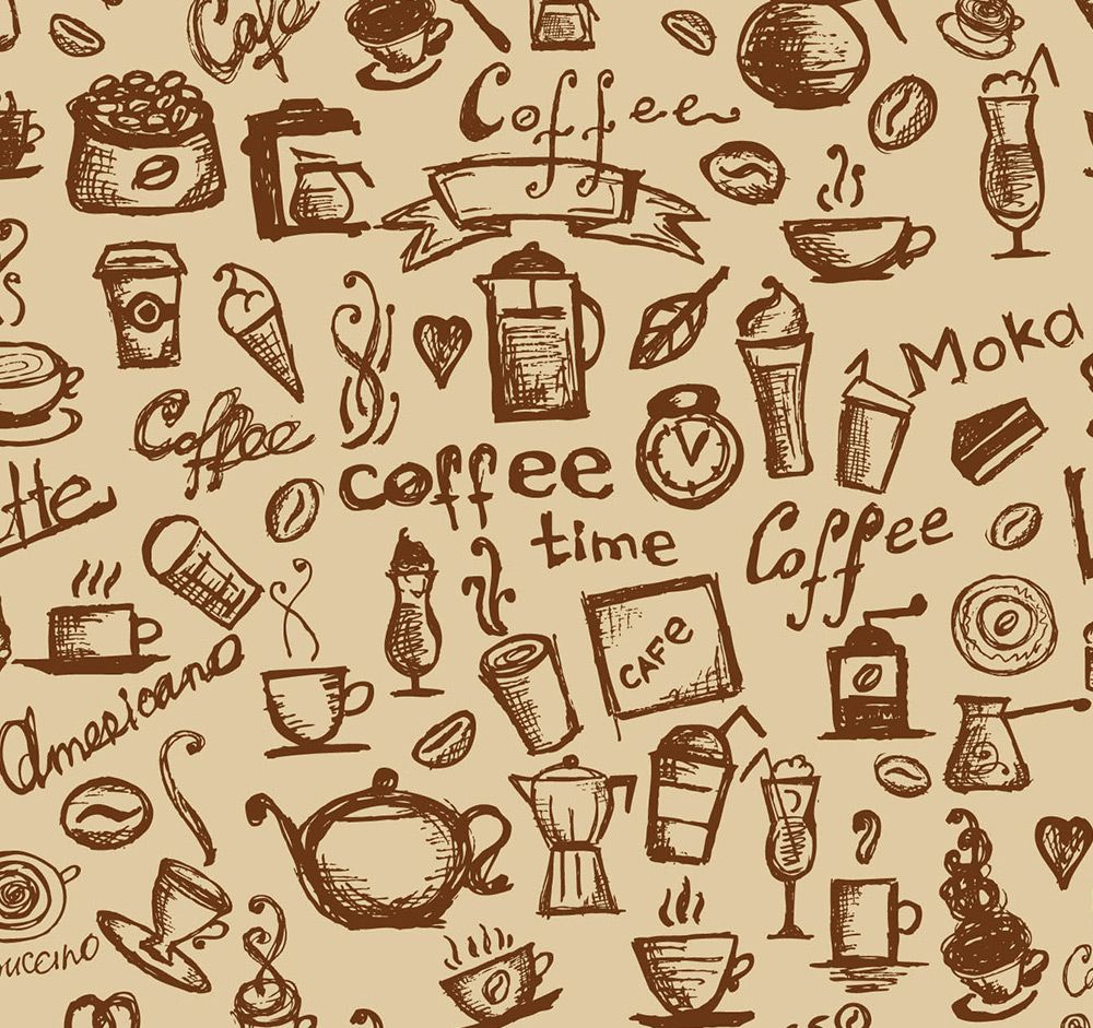 Coffee Wall Roll   design cafe   Pinterest   Coffee, Walls and Wall ...