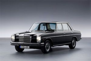 Mercedes /8 W114/115  I have always wanted to be in one. Seems like something the godfather would be in.