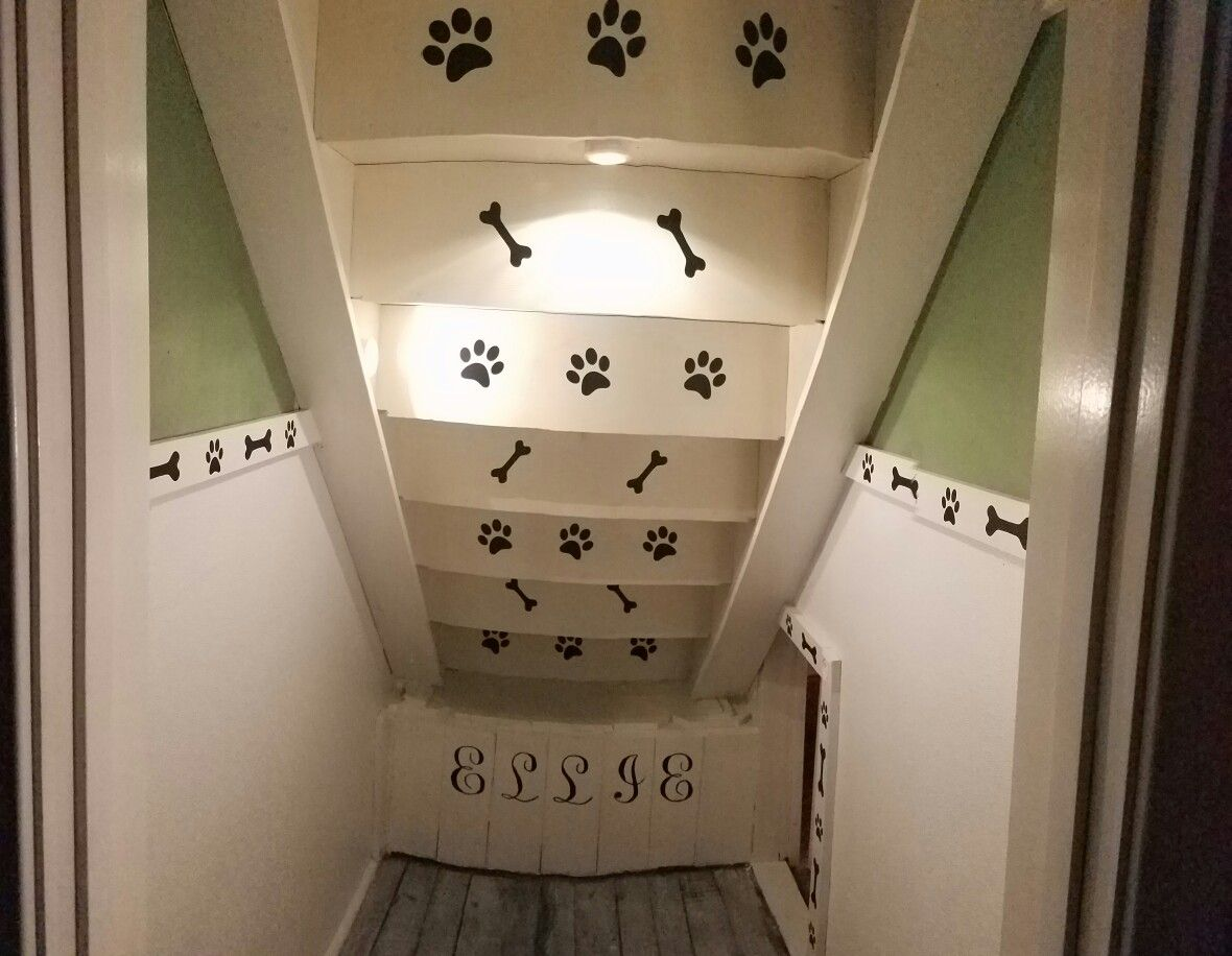 Dog Room Under The Stairs Puppy Room Room Under Stairs