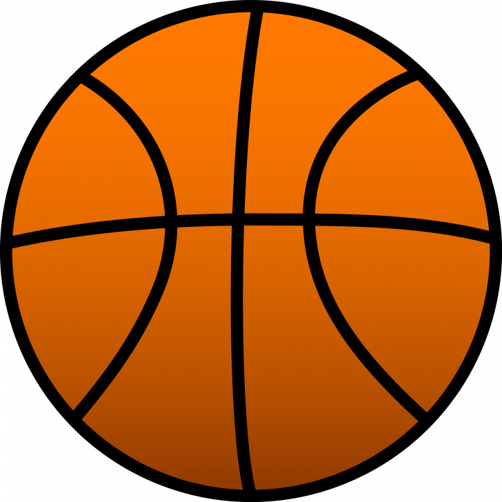 728x728 Basketball Ball Coloring Page Free Printable Pages