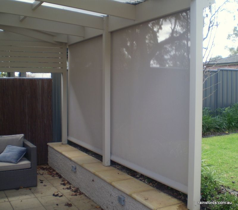 Outside Blinds Adelaide At Rainsfords Friendly Local Service Outdoor Blinds Courtyard Design Outdoor Rooms