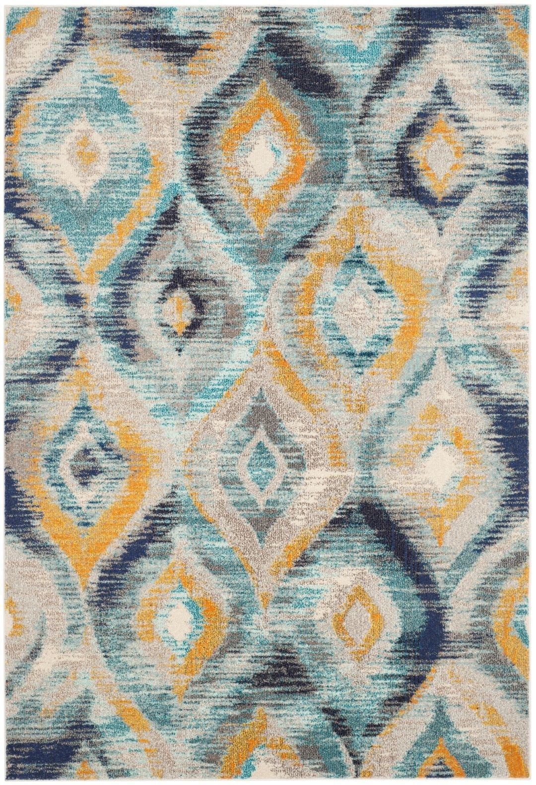 Safavieh Monaco Blue Yellow Area Rug