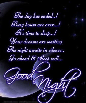 Goodnight My Friend Greetings I Have Sent Night Quotes Good