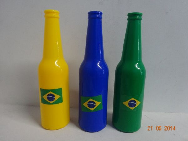 Vuvuzela de Brasil en diferentes colores. #ArticulosParaFiestasMedellin #DecoracionTematicaMundialistaArmenia