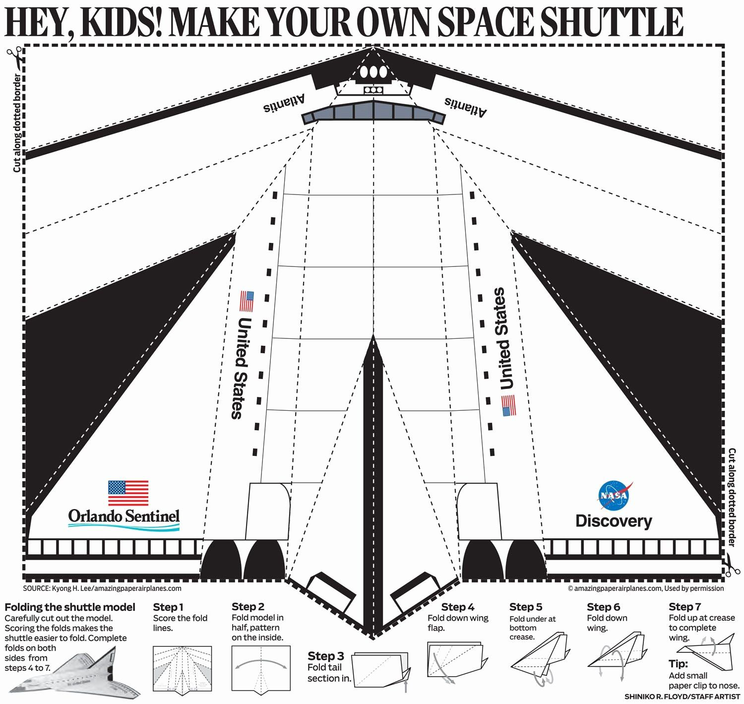 Space Coloring Pages Nasa in 2020 Paper airplanes, Paper