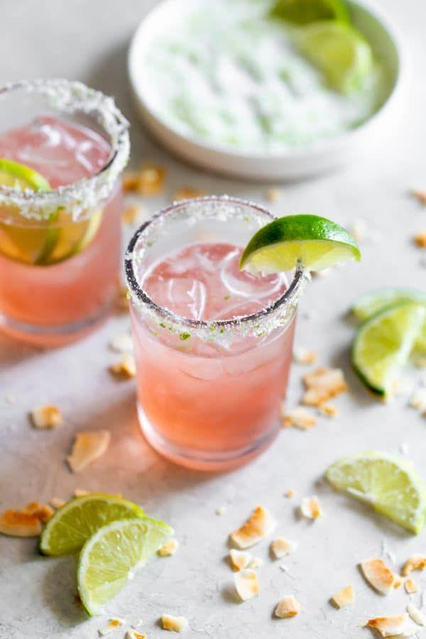 Guava Coconut Lime Margarita