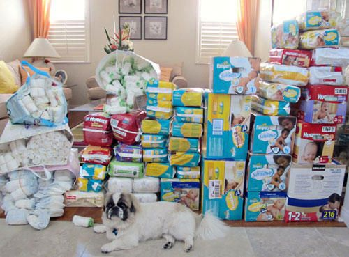 Diaper Raffle Prize Ideas Image Baby Shower Diapers Games