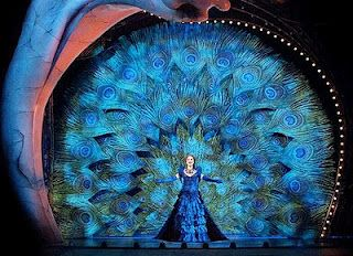 Love Never Dies:  Blue Peacock Dress