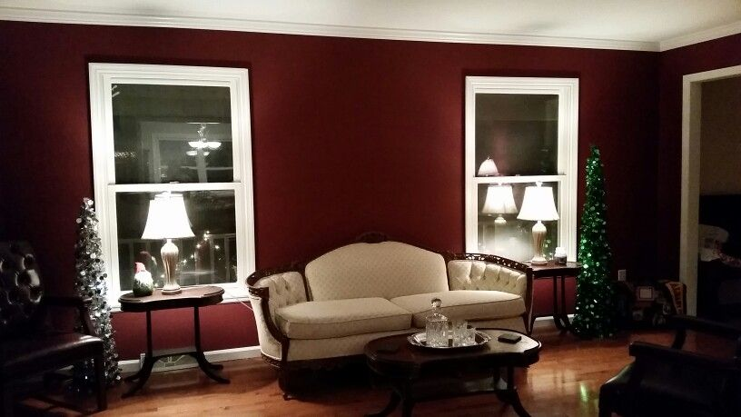 Formal Living Room Antique Borscht Sherwin Williams Color