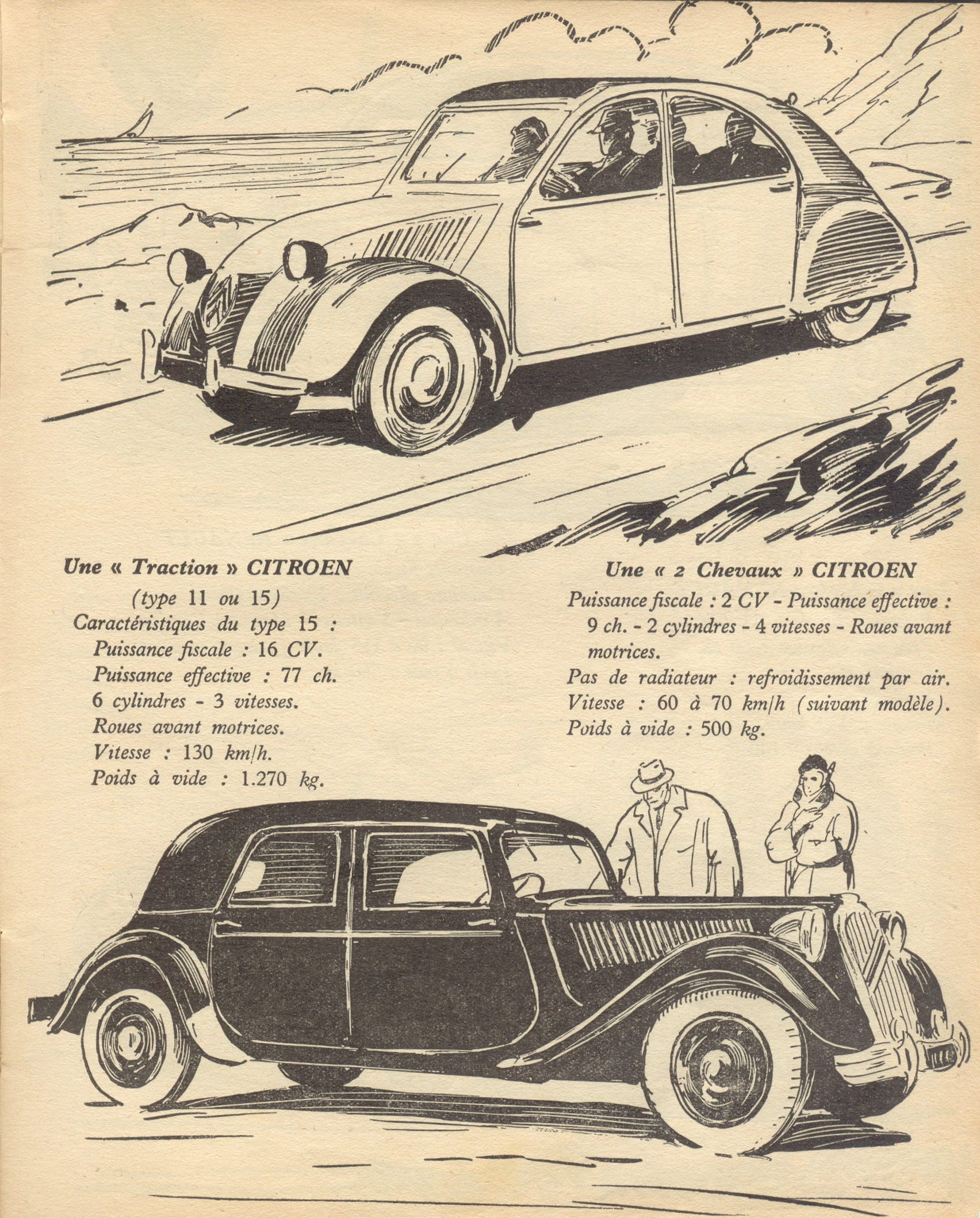 citro u00ebn 2 cv et traction avant