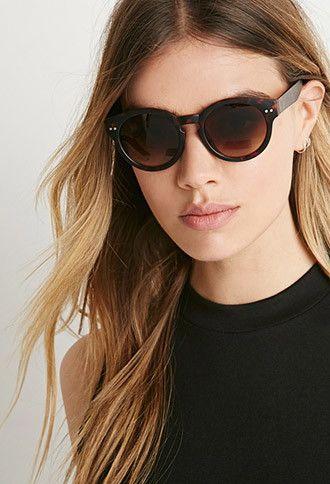 6c7a1b68e37b5 Matte Tortoiseshell Round Sunglasses