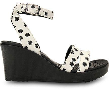 Crocs Womens Leigh Graphic Wedge