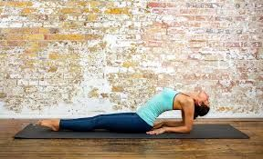 image result for fish pose  fish pose hero pose yoga