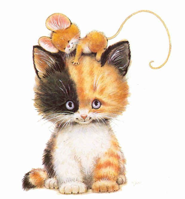 Ruth Morehead Cat Clip Art