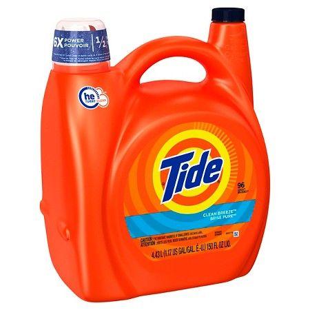 Tide Clean Breeze He Liquid Laundry Detergent 138 Fl Oz Embalagem De Sabao Sabao