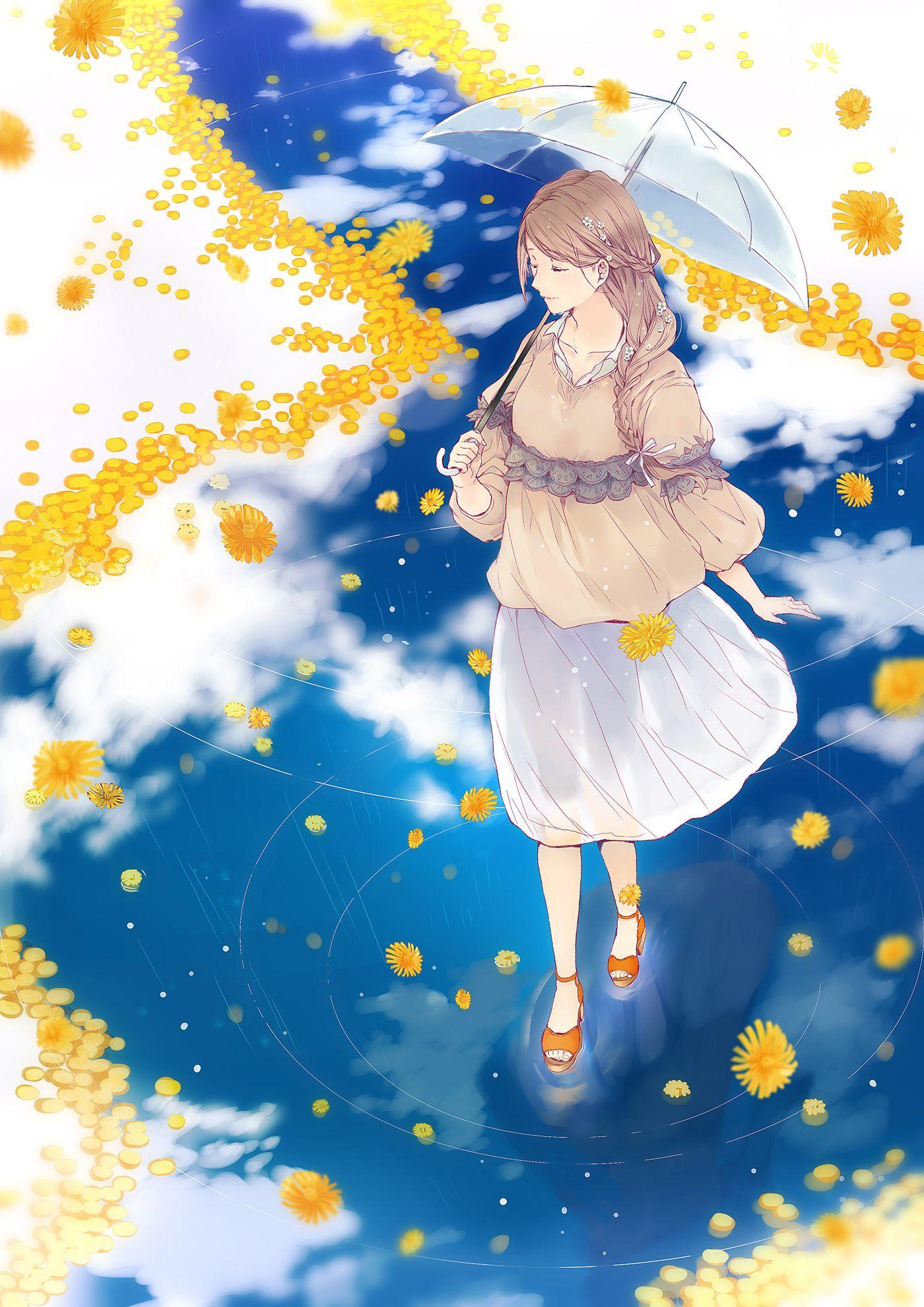 Falling warm rain. Is so beautiful...