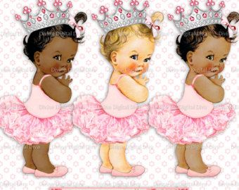 Little Prince Black Gold Diaper Crown Rattle Sitting Baby Etsy Vintage Baby Girl Black Baby Girls Baby Clip Art