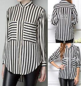 23957f5bce6 Выкройка женской рубашки. Размер 36-56 (португальский) (Шитье и крой ...