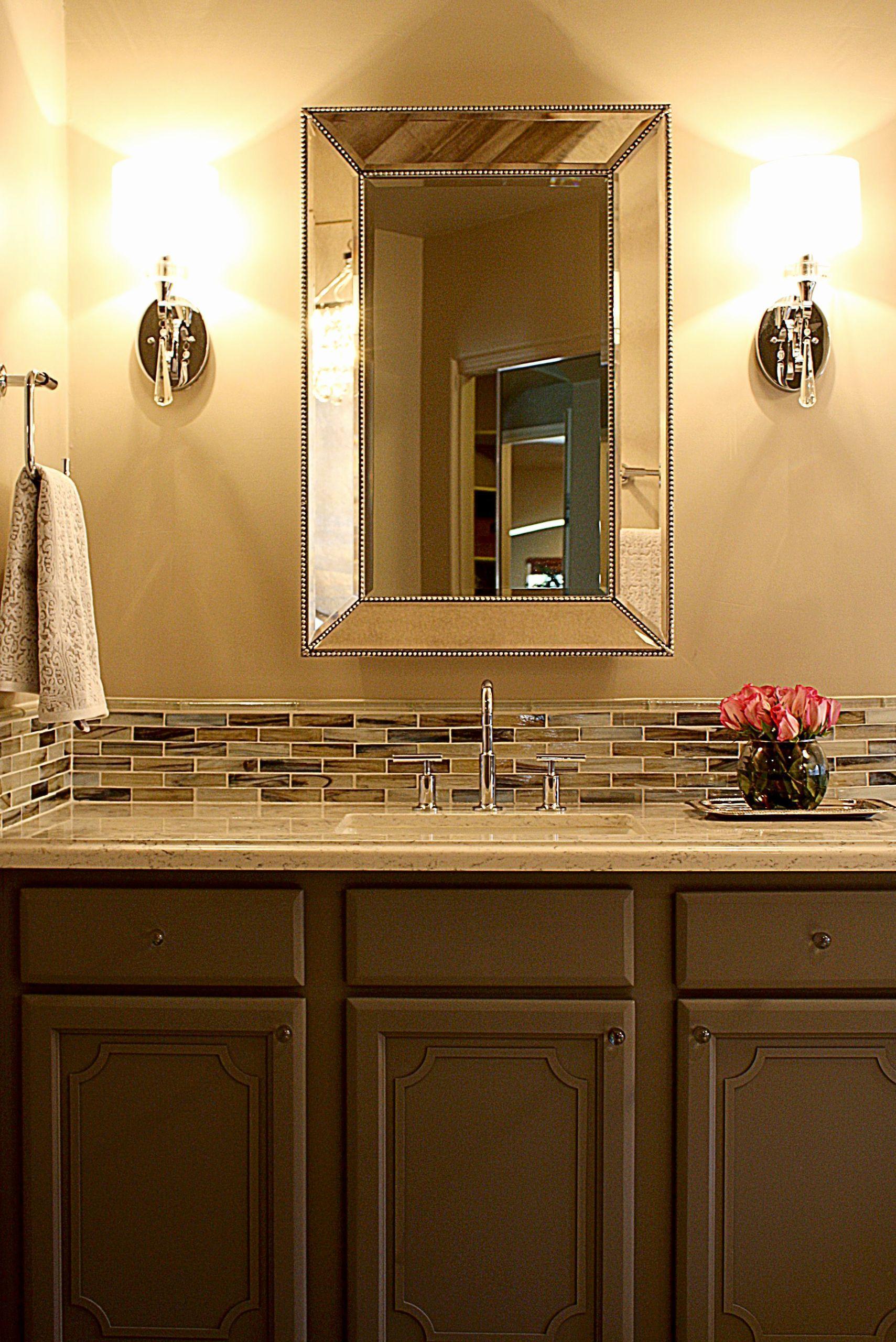 Bathroom Sink Backsplash Ideas New Bathroom Vanity Tile Backsplash Google Search Ba In 2020 Vanity Backsplash Tile Backsplash Bathroom Vanity Unique Bathroom Vanity