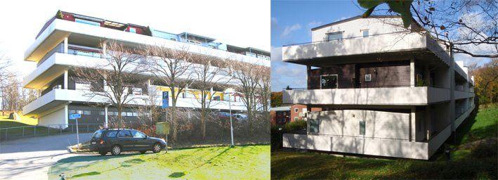 Däckshus - A Swedish modernistic classic Birth: 1960 Location: Smörgatan 23 Kallebäck, Gothenburg Architect: Erik Friberger