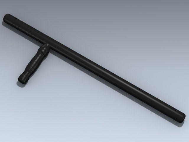 Police Baton 3Ds - 3D Model