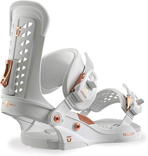 Amazing Offer On Union Trilogy Snowboard Bindings White