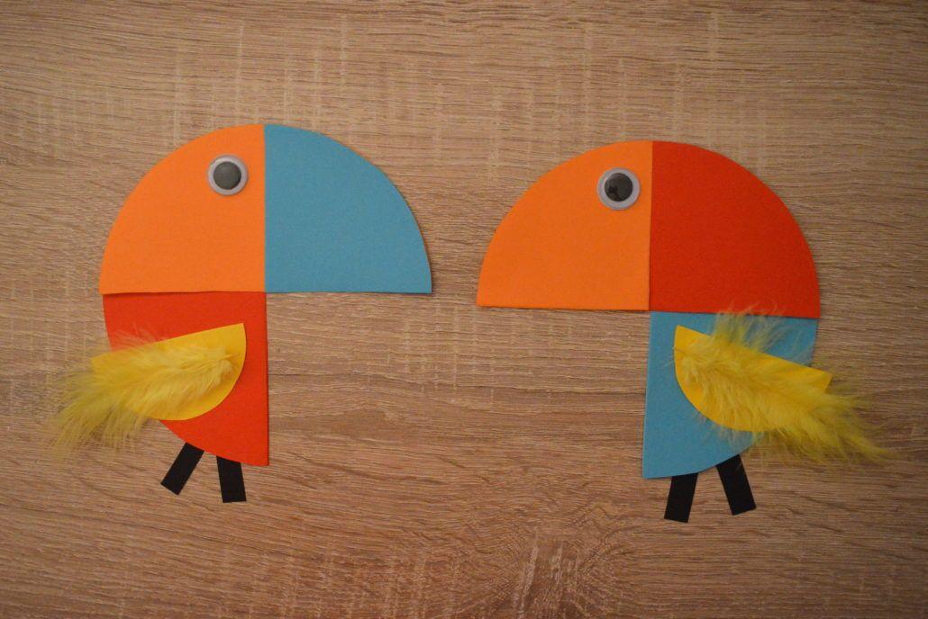 Papagei Basteln Papagei Basteln Bastelideen