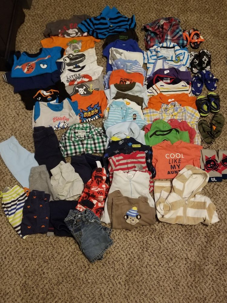 Baby Boy Clothes Lot 6 12 Months Fashion Clothing Shoes Accessories Babytoddlerclothing Boysclothingnewborn5t Ebay Boy Outfits Baby Boy Outfits Baby Boy