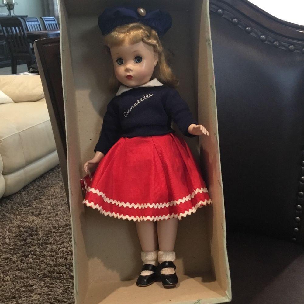 Details about Vintage Madame Alexander Doll Maggie 18