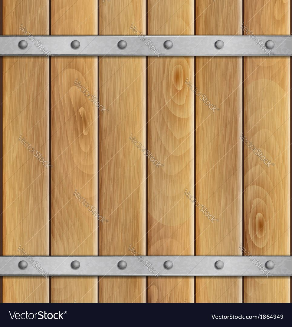 Wooden background with metal crossbar download a free preview or