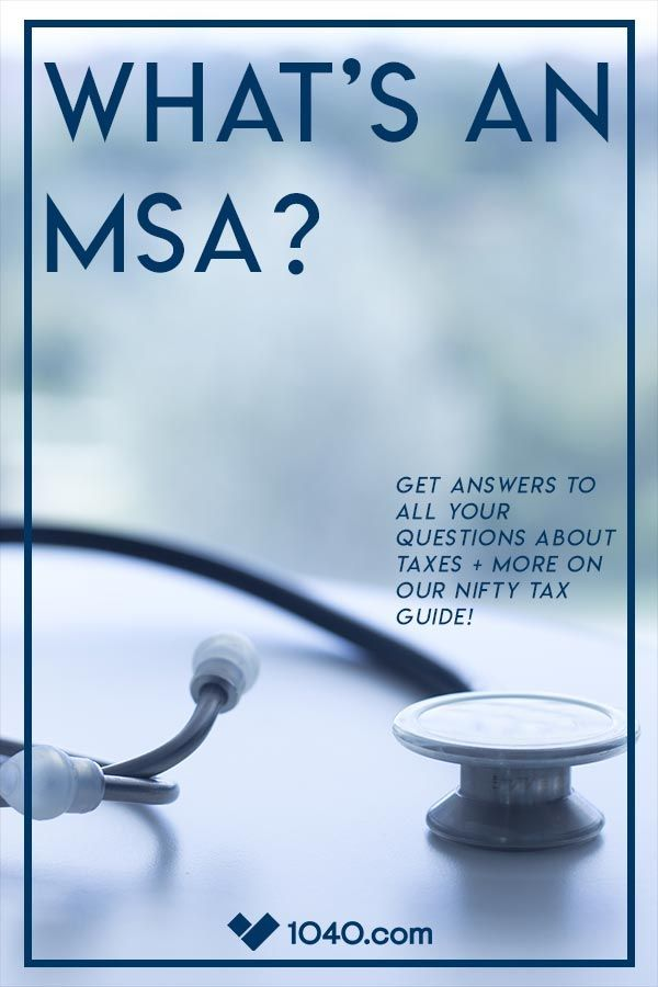 A Medical Savings Account (MSA), often referred to as an ...
