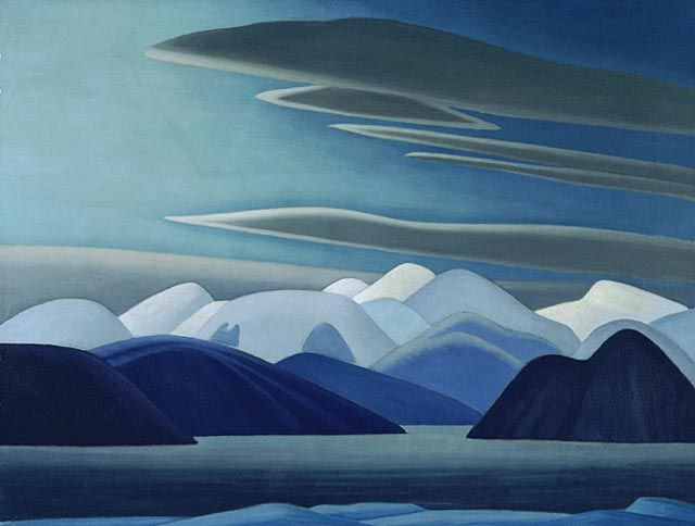 """North Shore, Baffin Island I,"" Lawren S. Harris, ca. 1930, oil on canvas, 32 x 42.3"", National Gallery of Canada."