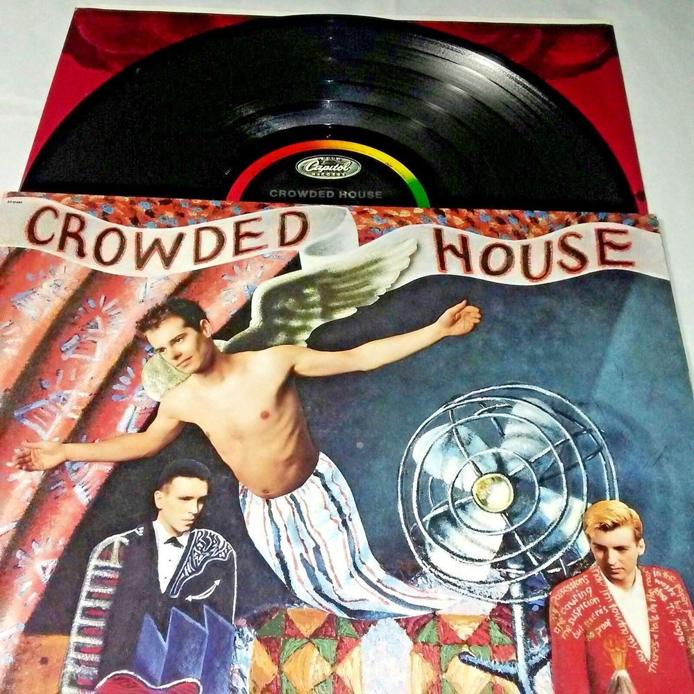Superb Crowded House Vinyl Lp Capitol St 12485 Ex Usa 1986 Download Free Architecture Designs Terchretrmadebymaigaardcom