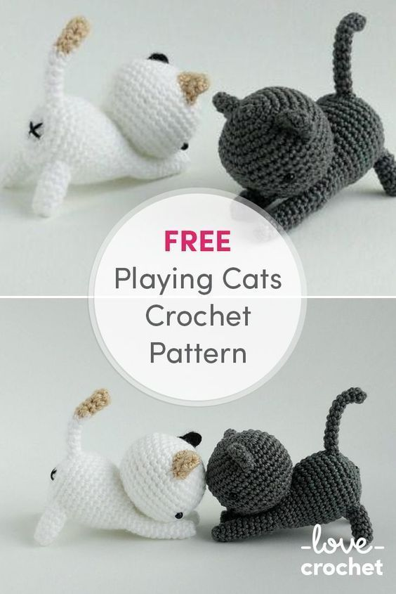 Download FREE cat pattern here on my amigurumi patterns page: http ...