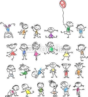 Kinder bunt mein bikablo pinterest malen zeichnen und kinder zeichnen - Menschen malen lernen kindergarten ...