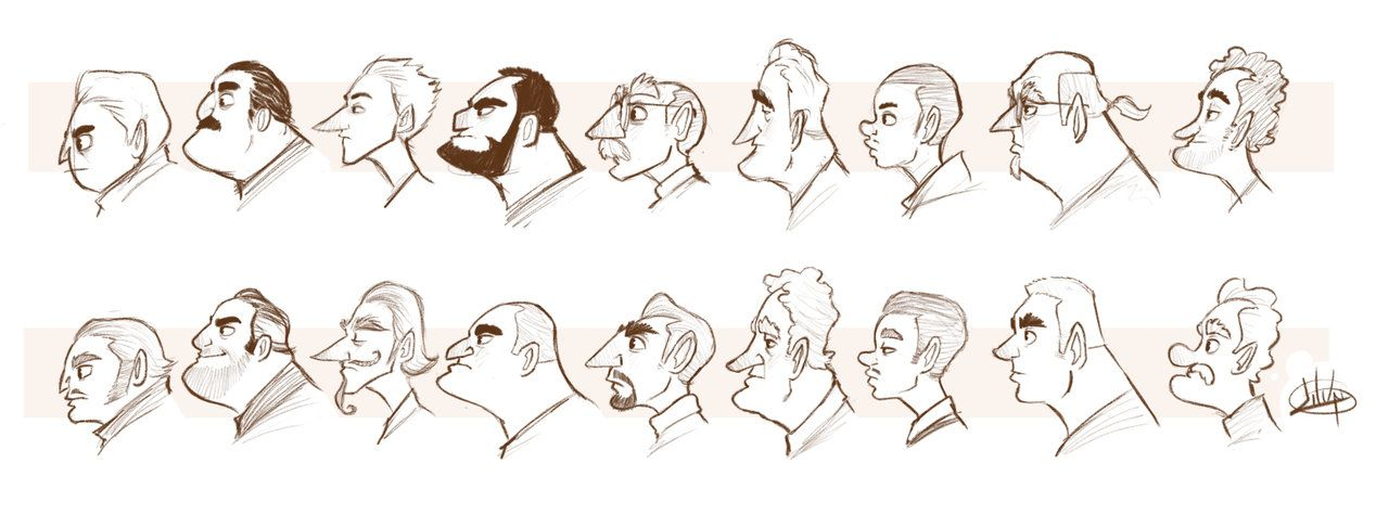 Character Design Profile : Character profile study by luigil viantart on