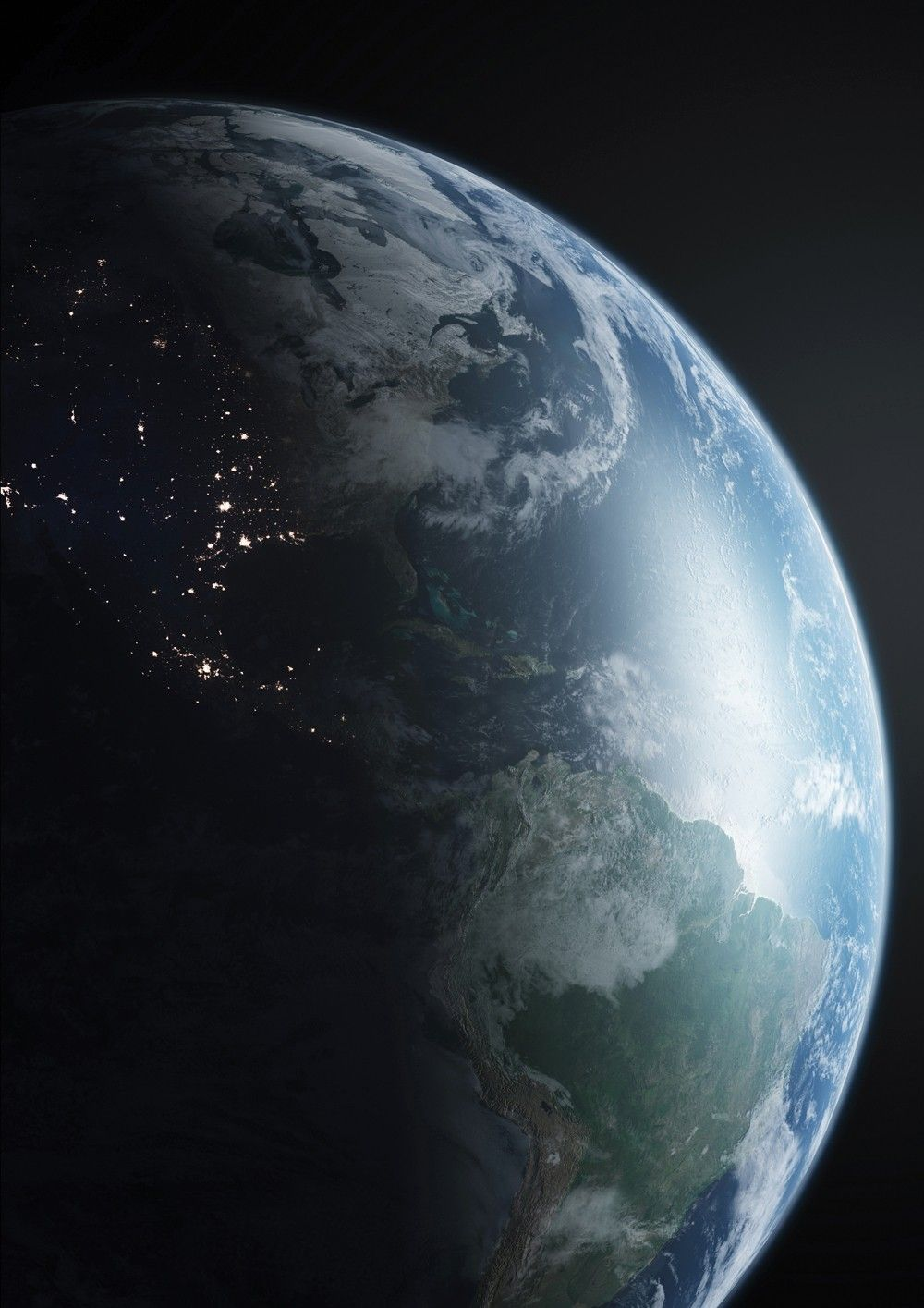 how to create a photorealistic earth in maya and photoshop