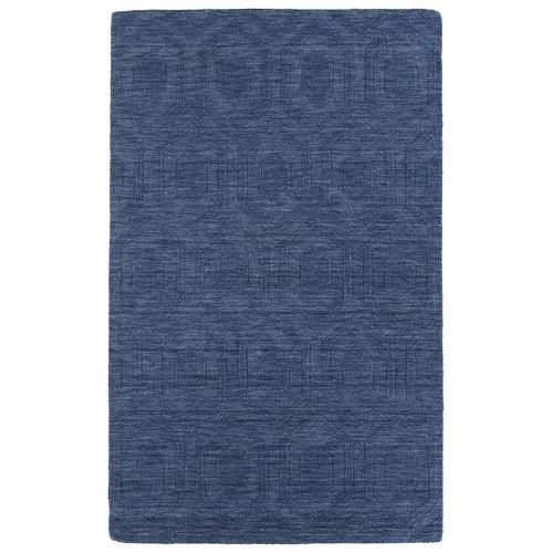 Found It At Joss Main Emmanuelle Blue Geometric Wool Hand Tufted Area Rug Modern Wool Rugs Blue Area Rugs Area Rugs