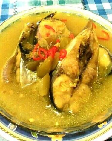 Resep Masakan Gulai Ikan Mas : resep, masakan, gulai, Resep, Kuning, Tatiara, Ikan,, Masakan,, Masakan, Indonesia