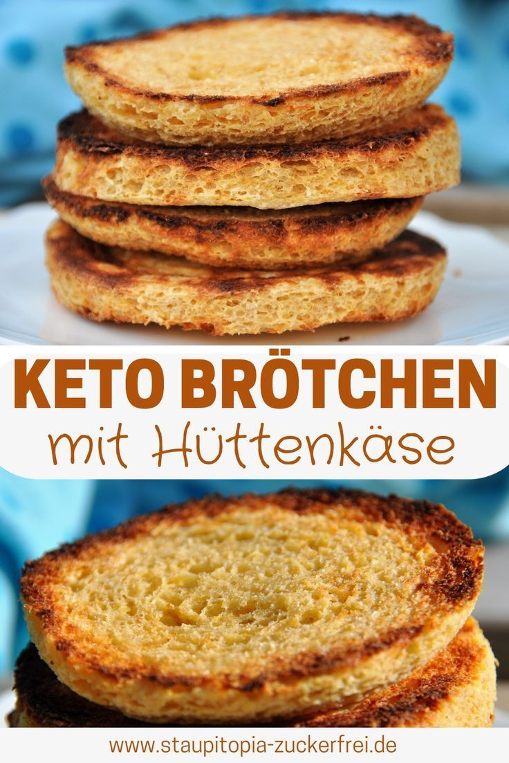Low Carb Hüttenkäse Toasties in 5 Minuten - Staupitopia Zuckerfrei
