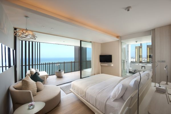 Newly Opened Hilton Pattaya Offers A Room At B2 000 Room Hotels Room Modern Hotel
