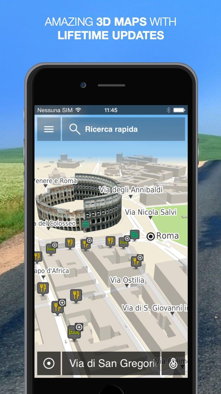 NLife Italy - Offline GPS Navigation, Traffic   Apple Game