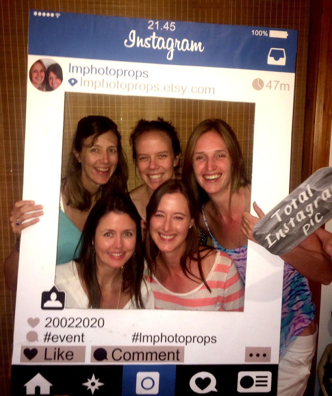 Instagram Style Social Media Photo Prop - Printable Frame, DIY ...