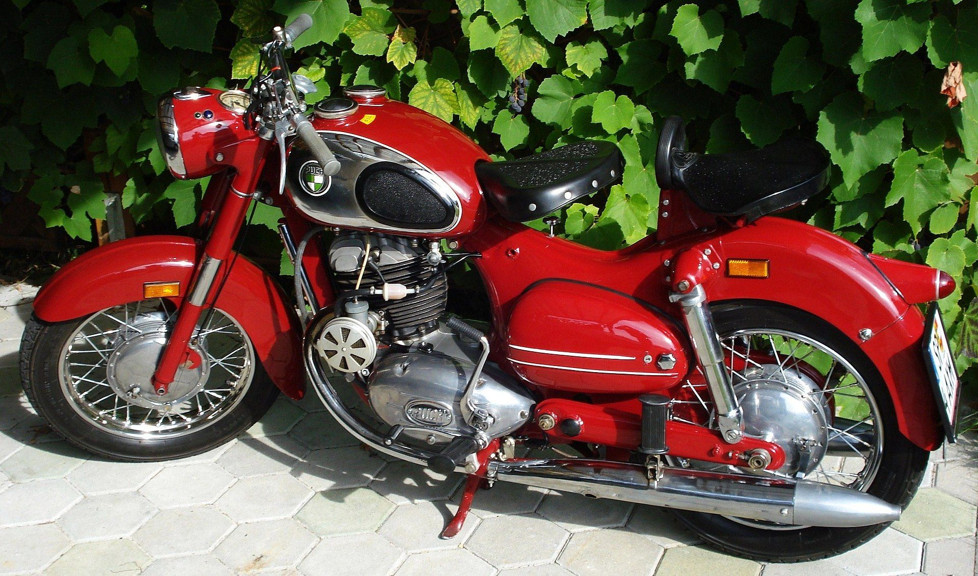 1954 Puch 250 Sgs Austria Classic Motorcycles Puch Old Bikes