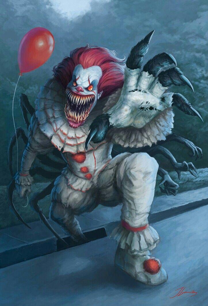 Pennywise Eso It Payasos Circo Oscuro Y Imagenes De Terror