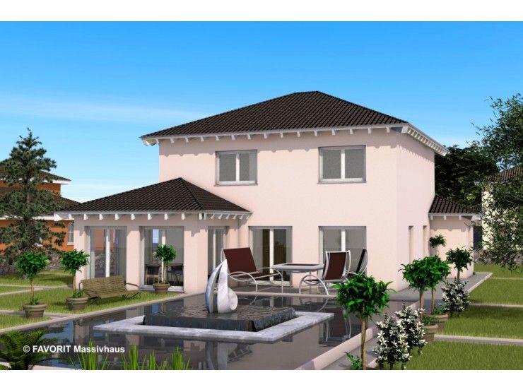 ambiente 152 einfamilienhaus von bau braune inh sven lehner hausxxl stadtvilla - Fantastisch Haus Bauen Ideen Mediterran