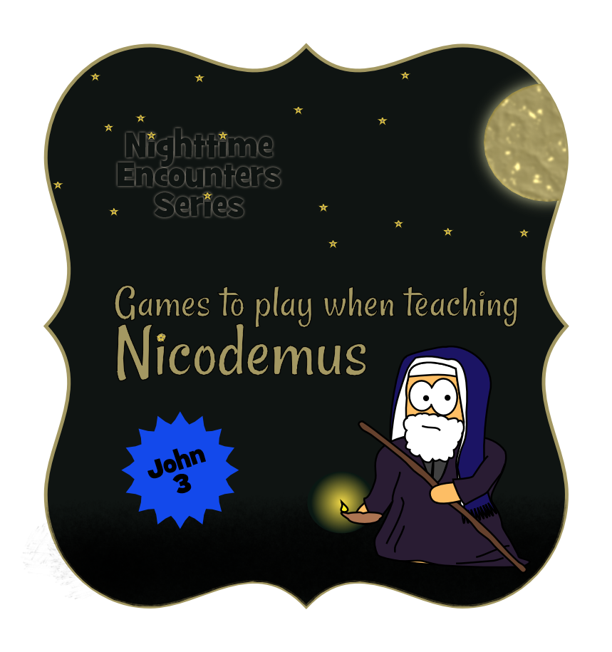 Nicodemus activities and games, the sneaking through the city game looks really fun